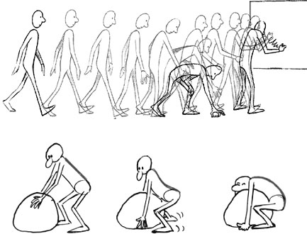Key Poses Animation Pose to Pose – Key Images